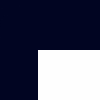 lacquer - navy blue and white